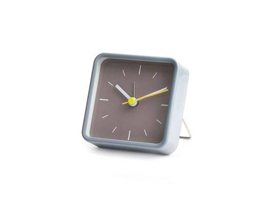 Image of   Vækkeur - Square Alarm Clock (Grå)