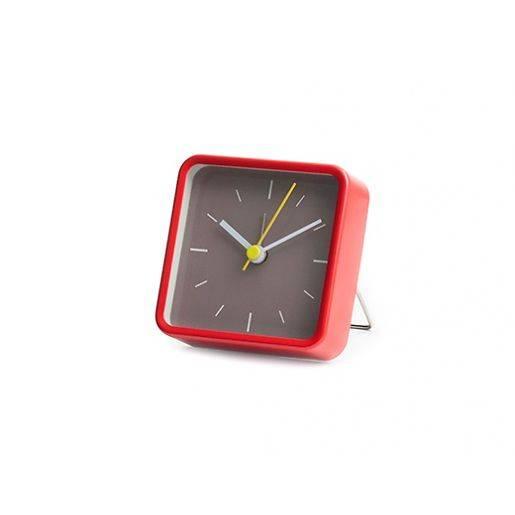 Image of   Vækkeur - Square Alarm Clock (Rød)