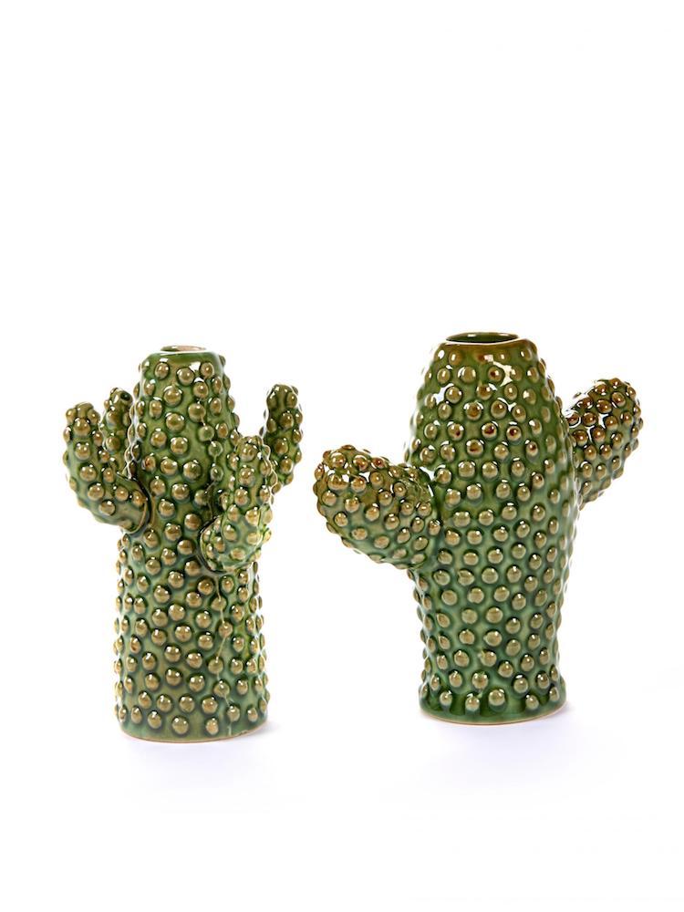 Serax kaktusvaser (2 stk.) - Mini - 12,5x5 x H12 + 9x9 x H12 CM