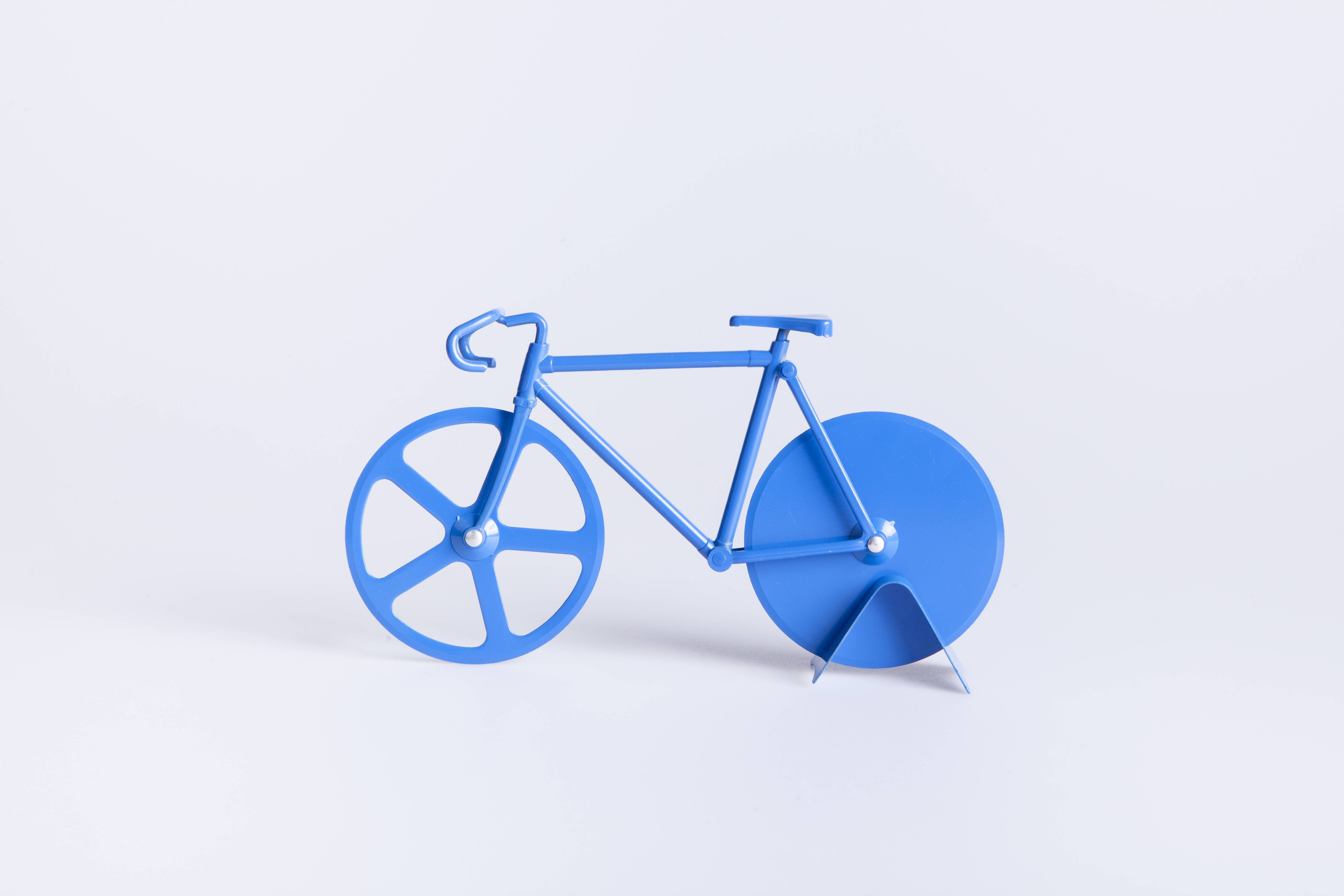 Pizzaskærer - Fixie (Pure Blue)