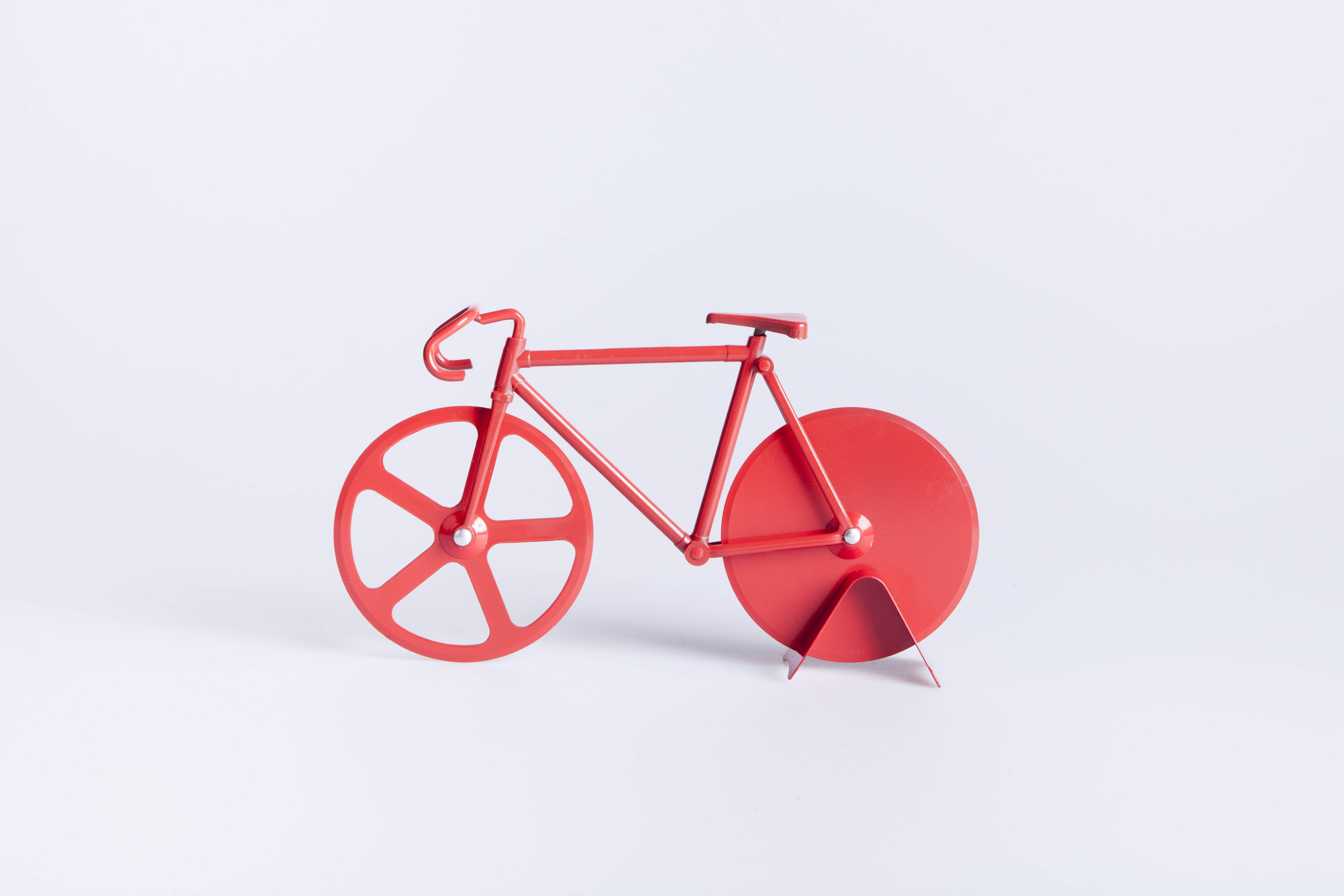 Pizzaskærer - Fixie (Pure Red)
