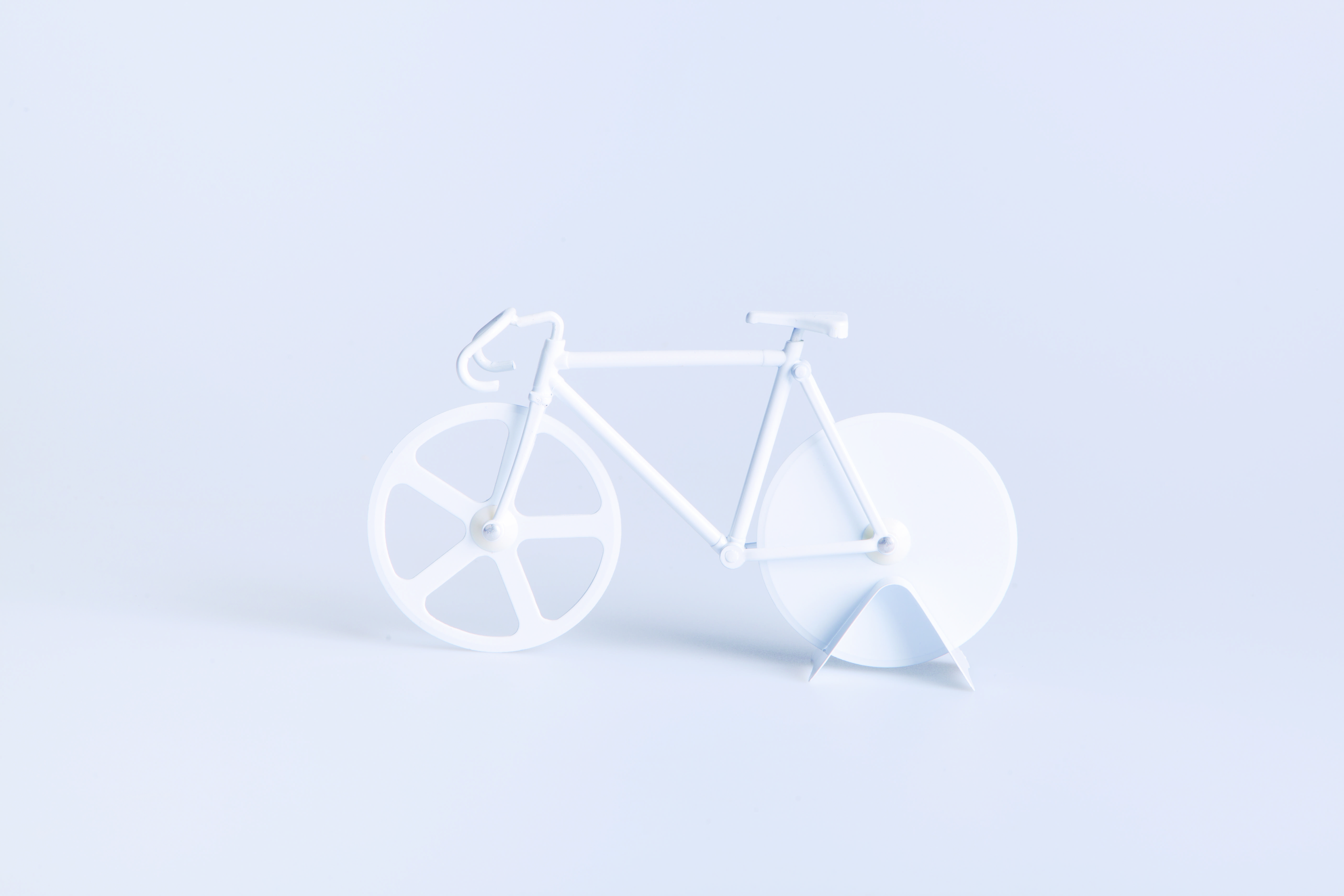Pizzaskærer - Fixie (Pure White)