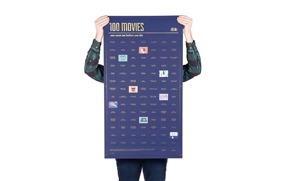 Poster - 100 movies you must watch before you die