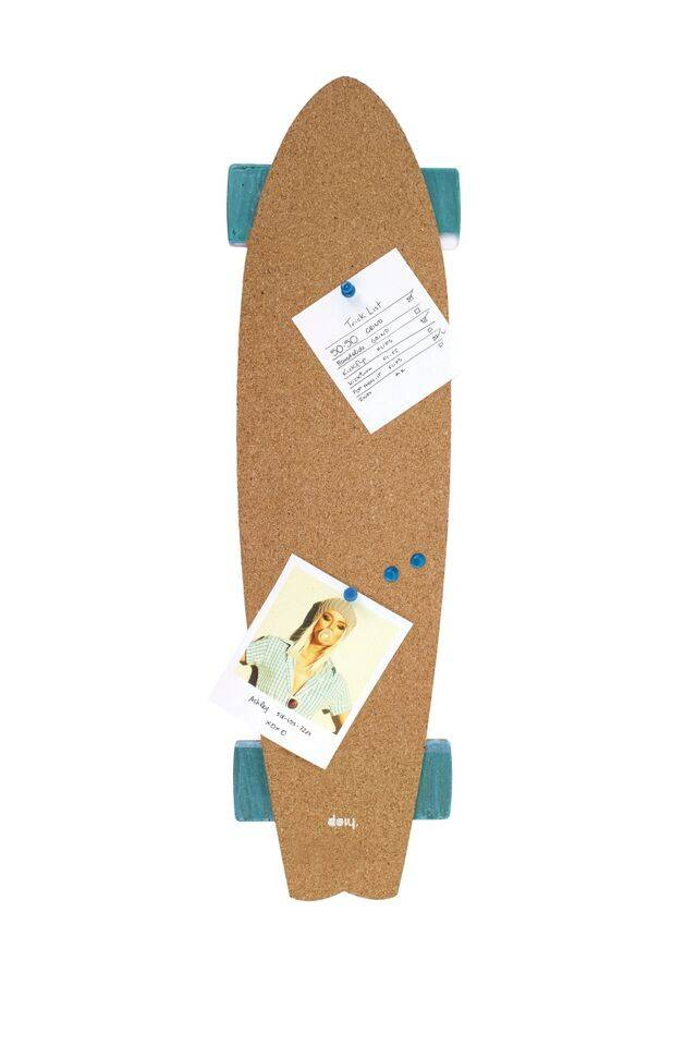 Image of   Opslagstavle - Skate Corkboard (Blå)