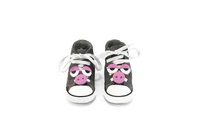 Accessories til sko - Wild Shoes (Pig)