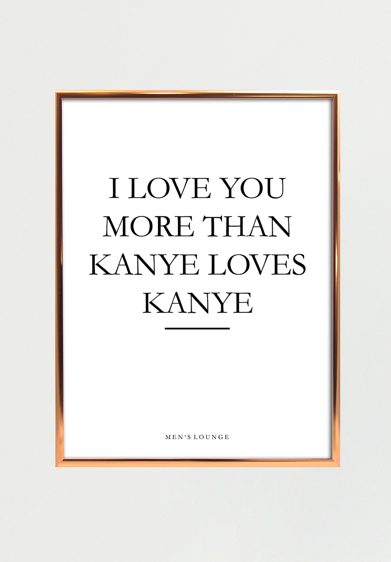 Image of   Kanye A4