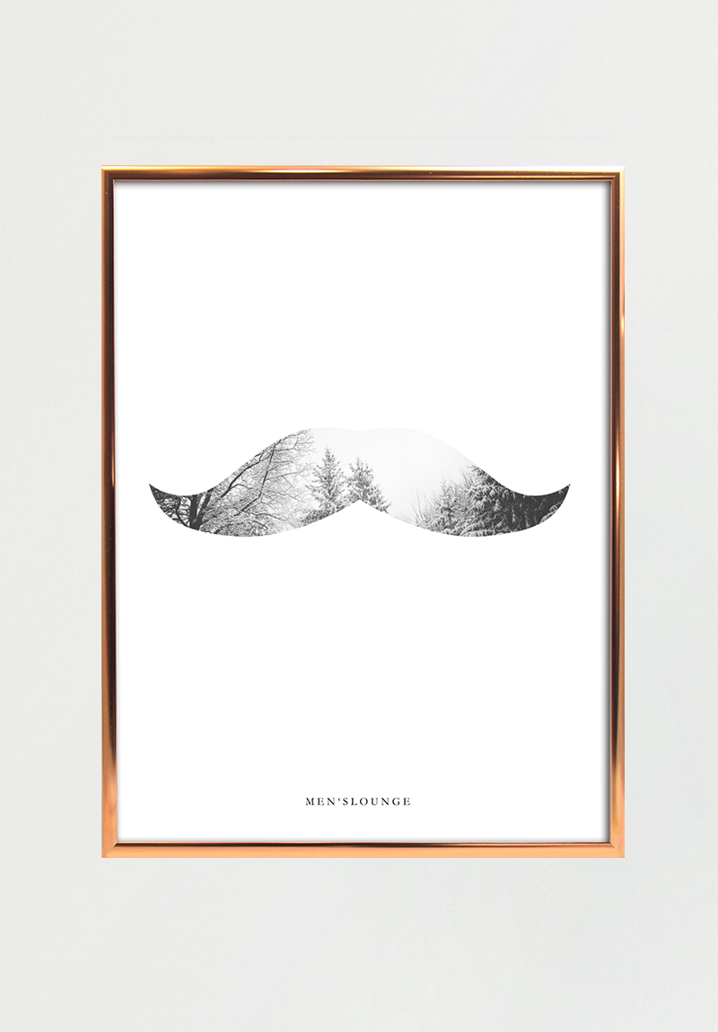 Image of   Nature Moustache A4
