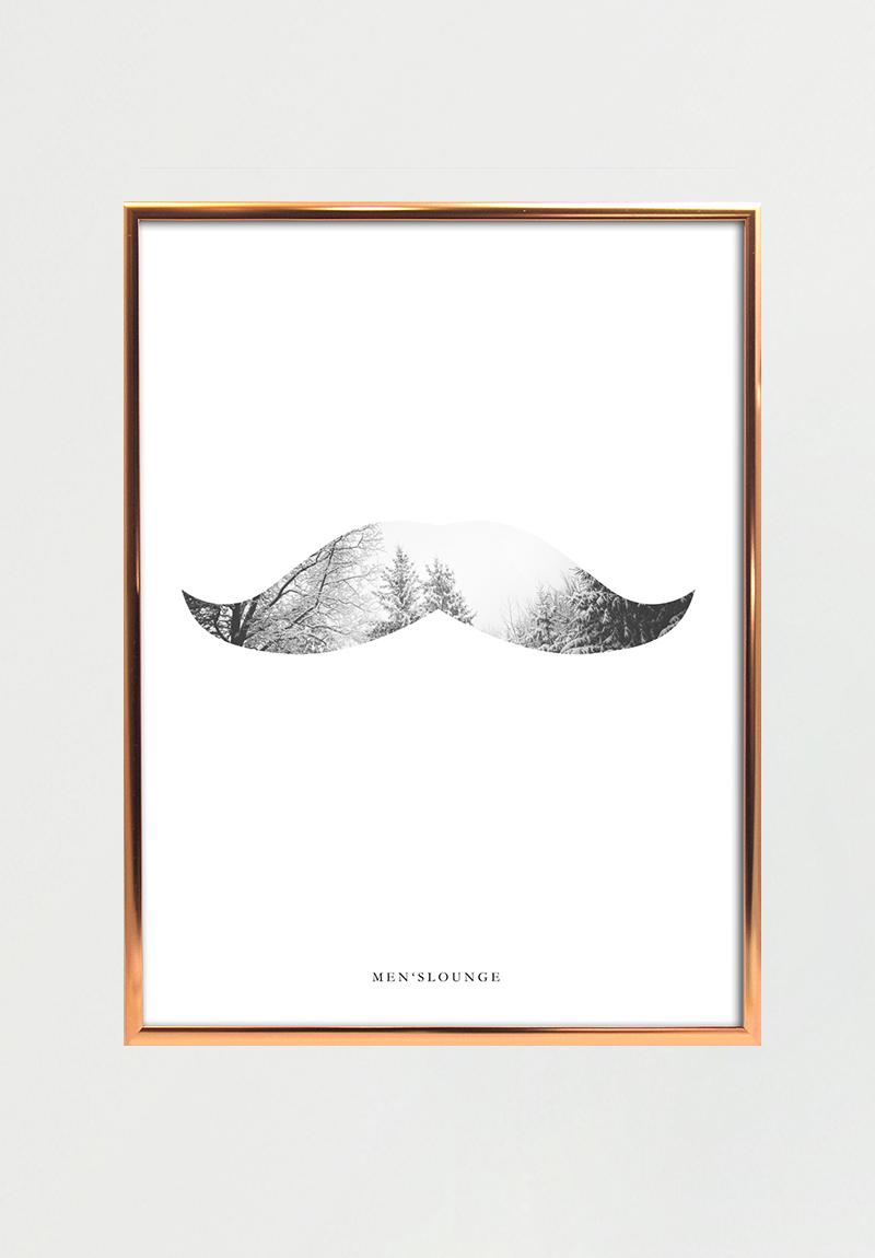 Nature Moustache 30x40