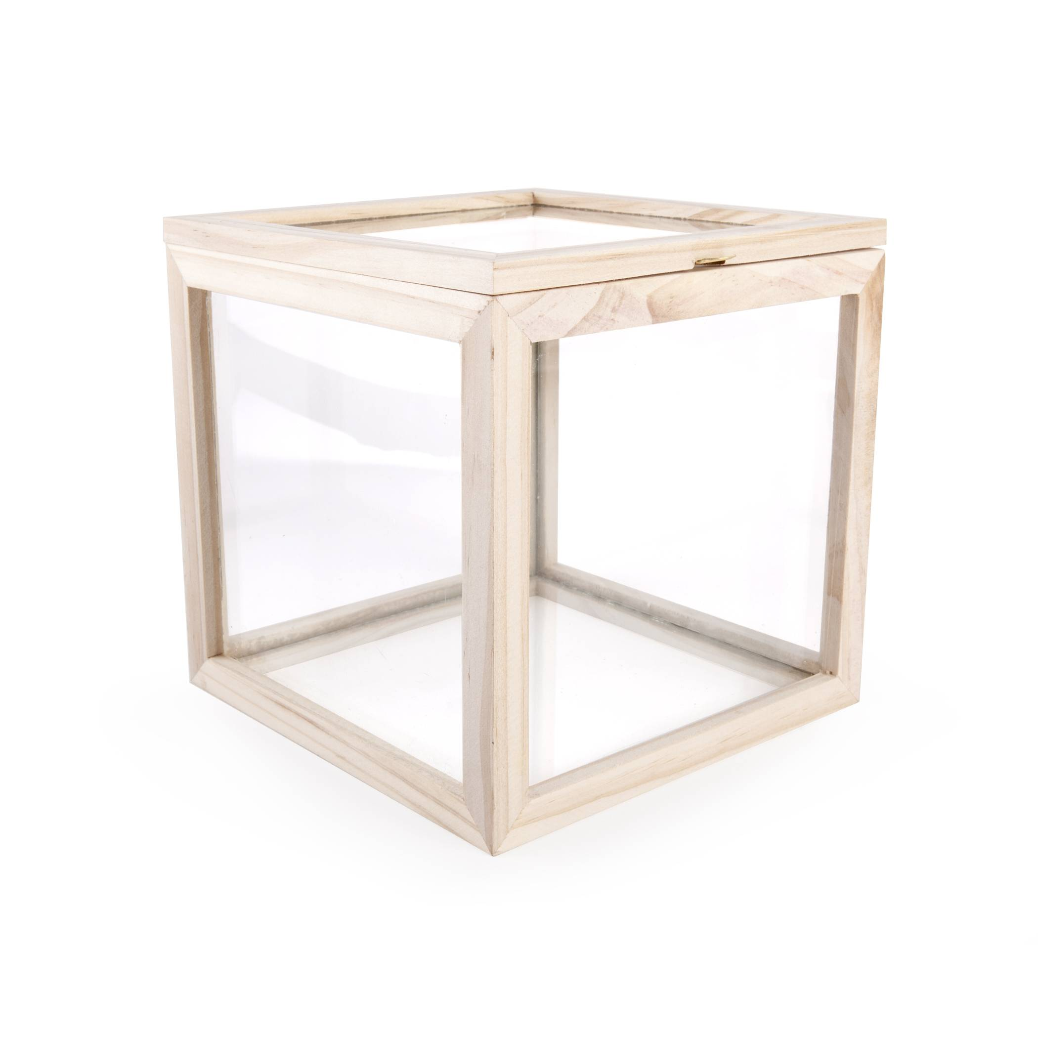 Opbevaringskasse - Glass Storage Box (Square)