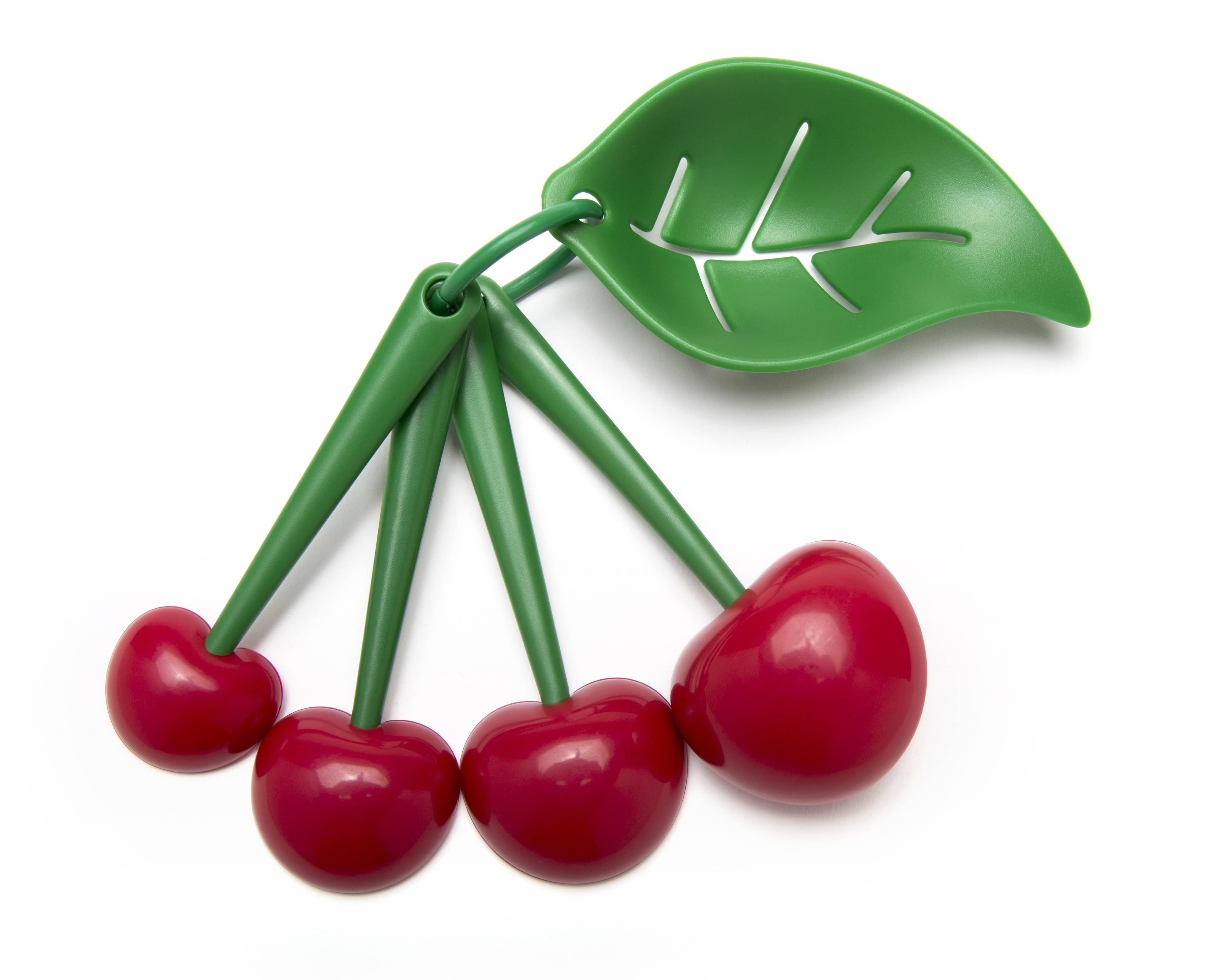 Image of   Måleskeer og æggeadskiller - Mon Cherry