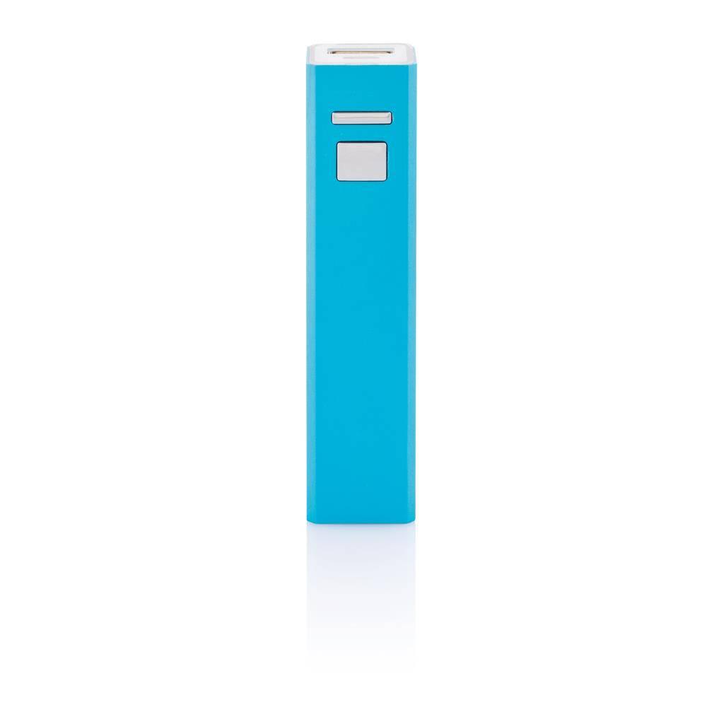 Trådløs oplader -  2200 mA (Firkantet - blå)