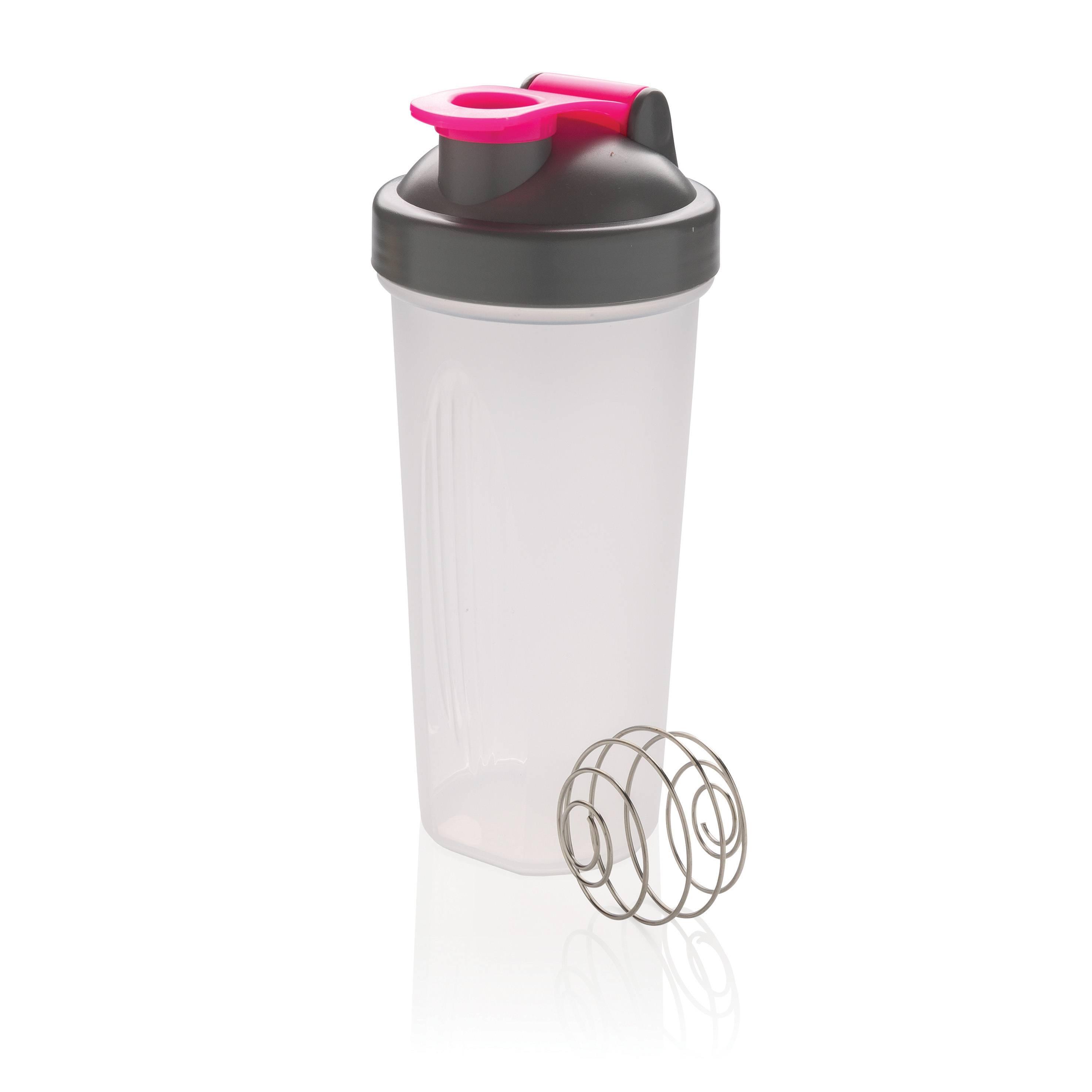 Shakerflaske (Pink)