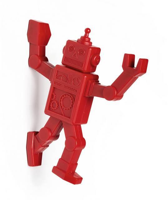 Image of   Magnetisk knag - Robohook (Rød)