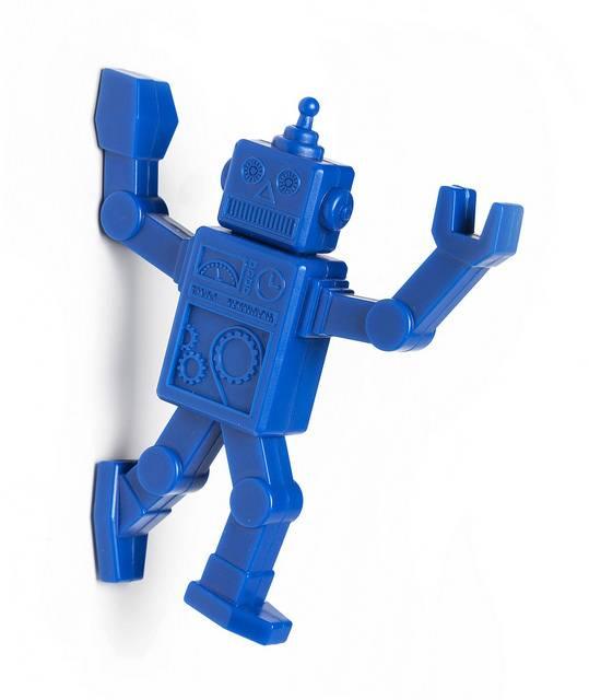 Image of   Magnetisk knag - Robohook (Blå)