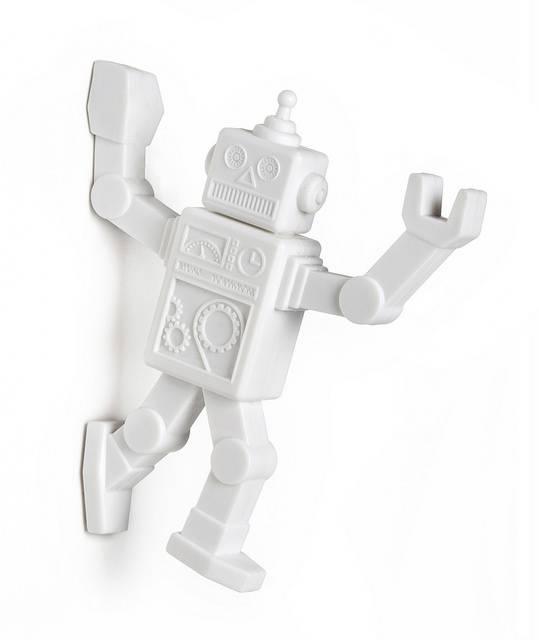 Image of   Magnetisk knag - Robohook (Hvid)