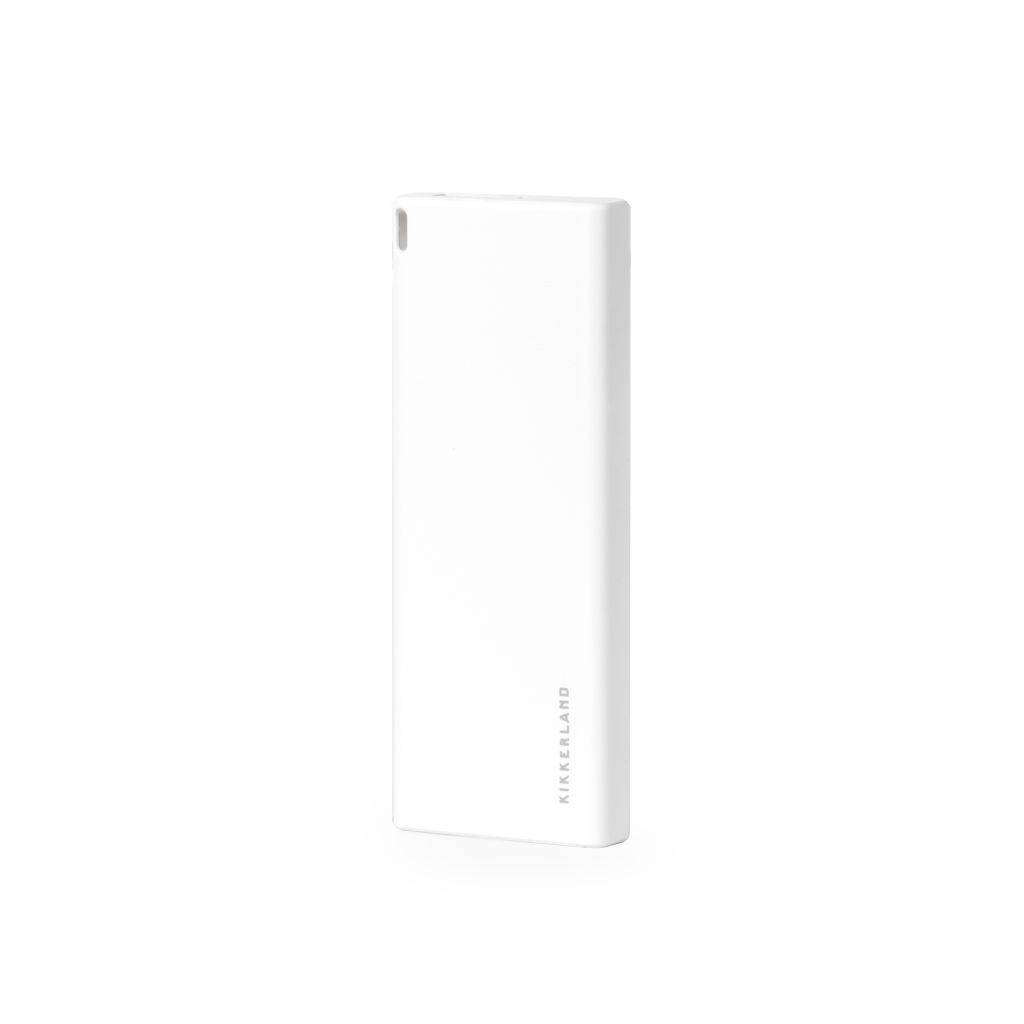 Powerbank - Slim Powerbank 6000 mAh (Hvid)