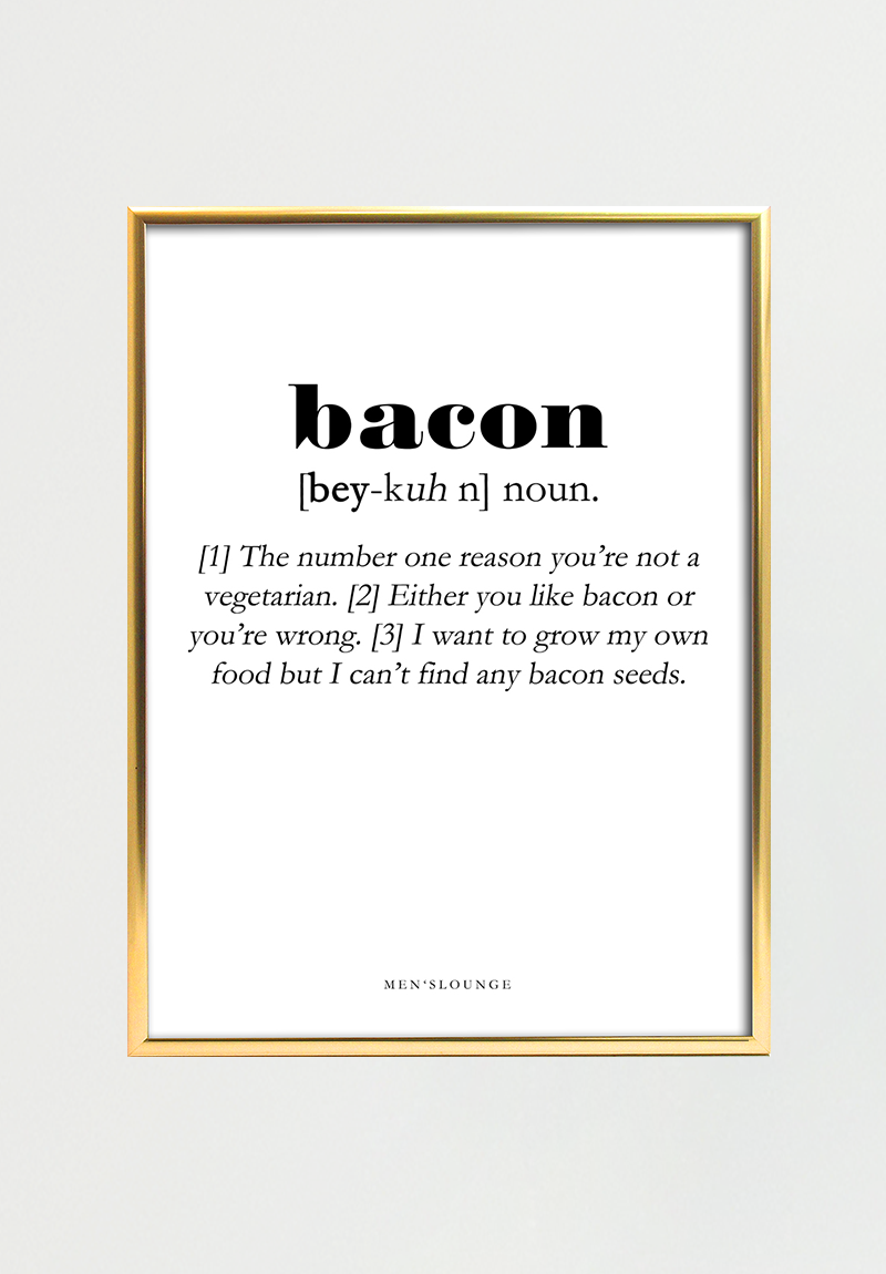 Image of   Bacon Definition