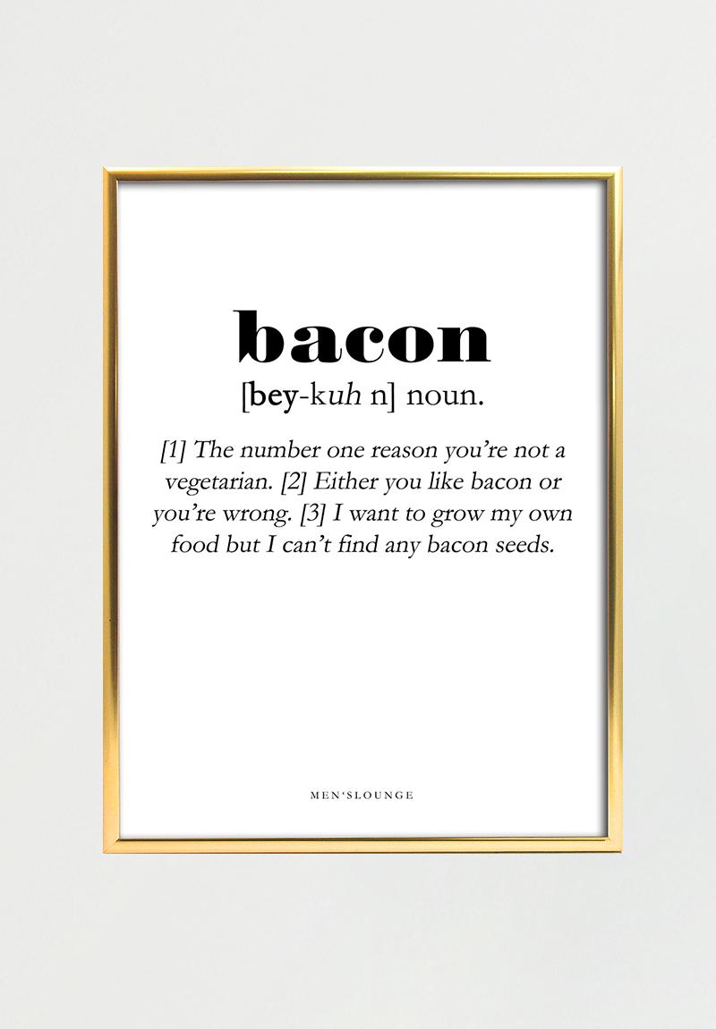 Billede af Bacon Definition