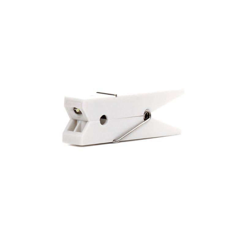 Image of   Boglys - Clothespin Clip (Hvid)