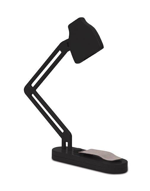 Image of   Boglys - Slim Book Lamp (Sort)