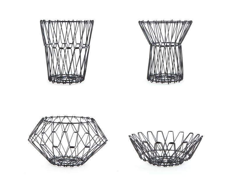 Trådkurv - Folding wire basket