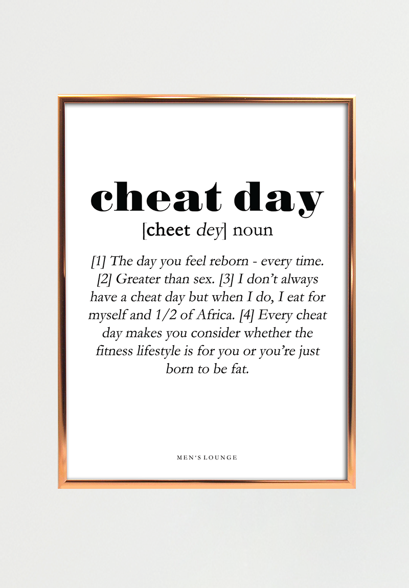 Image of   Cheat day Definition