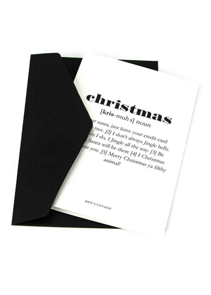 Julekort - Christmas Definition A6 thumbnail