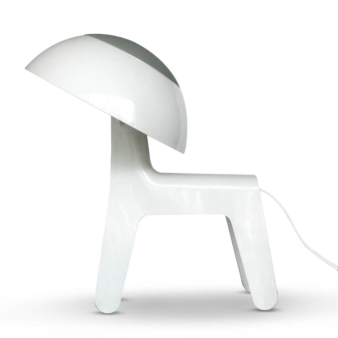 Image of   Bord-/Gulvlampe - Dog Lamp (Hvid)