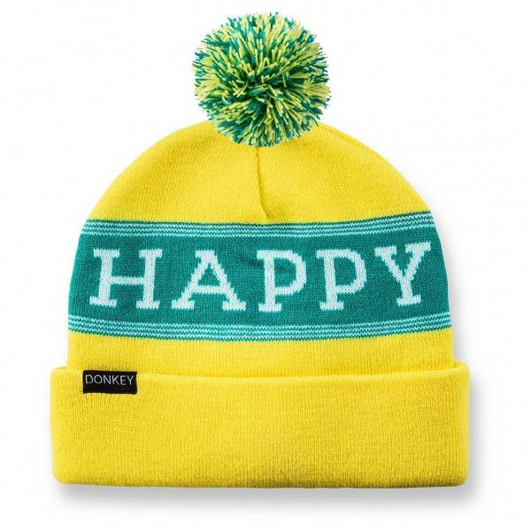 Image of   Hue - Donkey Beanie (Happy Yellow)