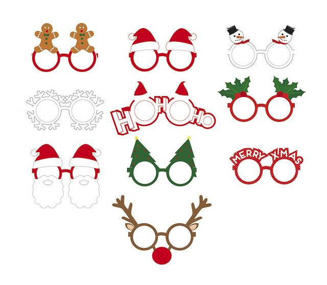 Image of   Fest briller - Party Glasses (Xmas)