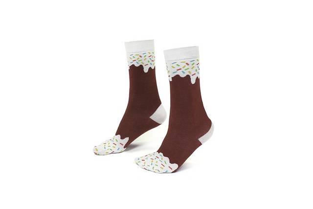Strømper - Icepop Socks (Chocolate) thumbnail