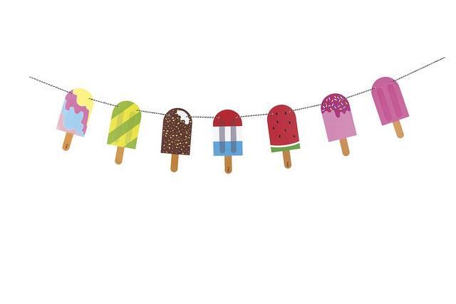 Image of   Guirlande - Yummy Buntings (Popsicle)