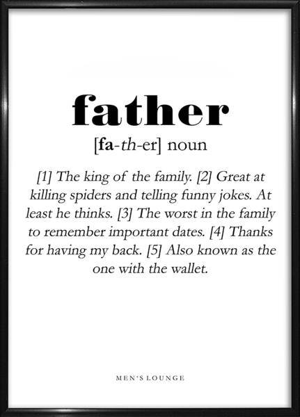 Image of   Father Definition A4