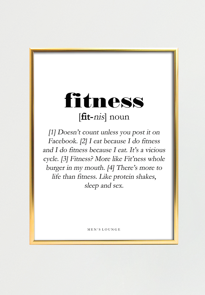 Image of   Fitness Definition