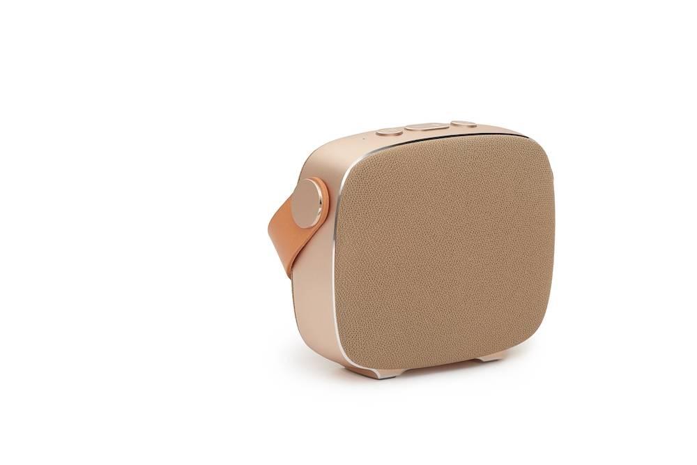 LEMUS SIA - Trådløs bluetooth højtaler - Guld