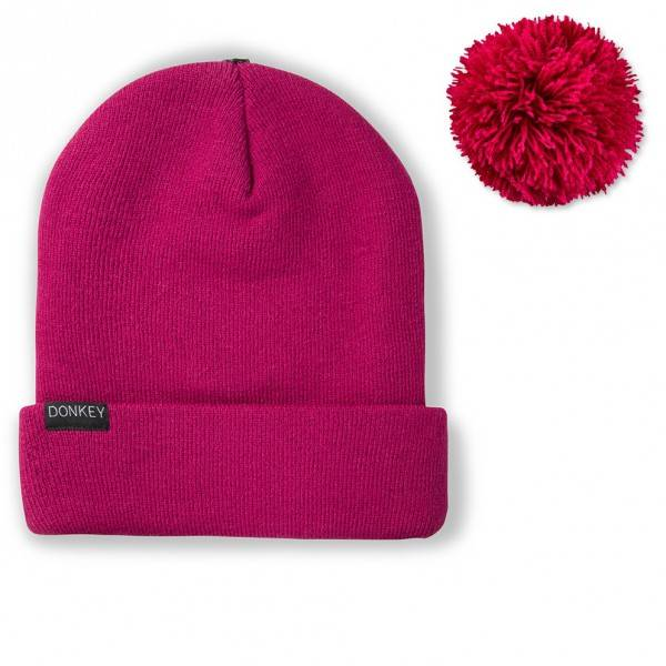 Image of   Hue - Donkey Beanie (Berry)
