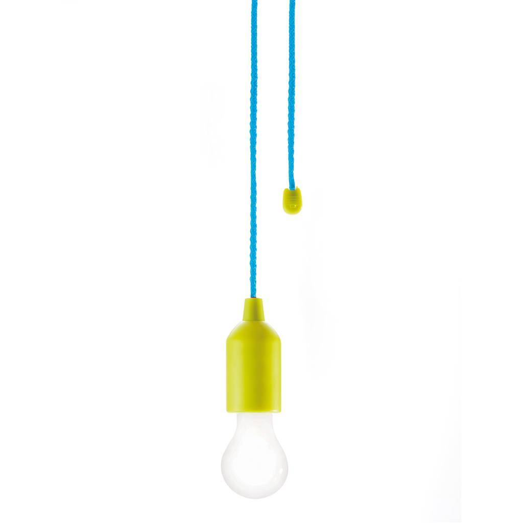 Lampe m. batteri - Pull lamp (Lime)