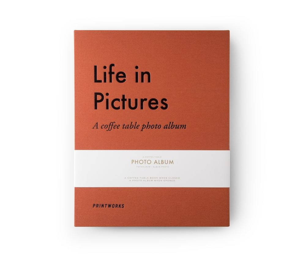 Fotoalbum - Life In Pictures Orange thumbnail